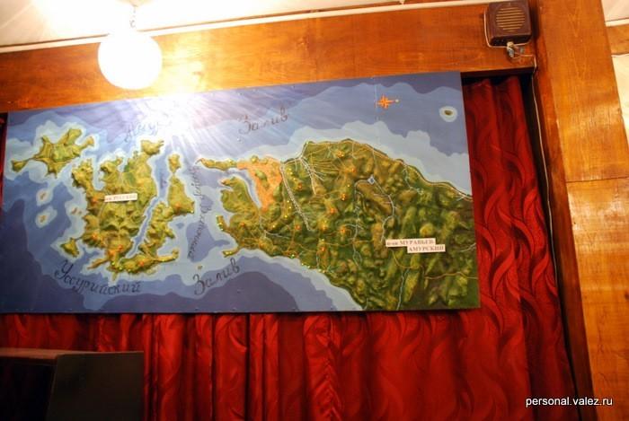 Карта укрепленных пунктов (подсвечены красным)