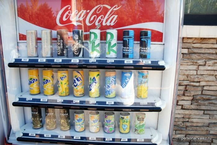 Продукция Кока-Кола