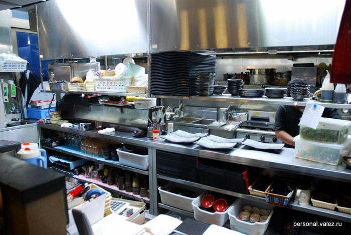 Вот такая она - японская кухня