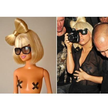 Кукла Барби в образе Леди Гага