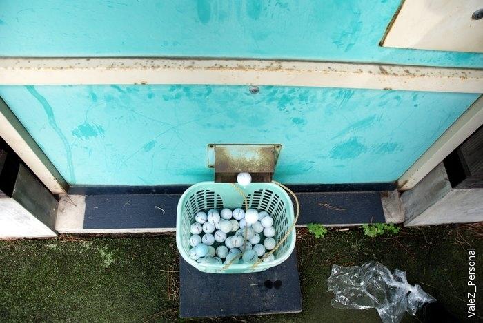 Жетон в автомат, тебе насыпается корзина шариков
