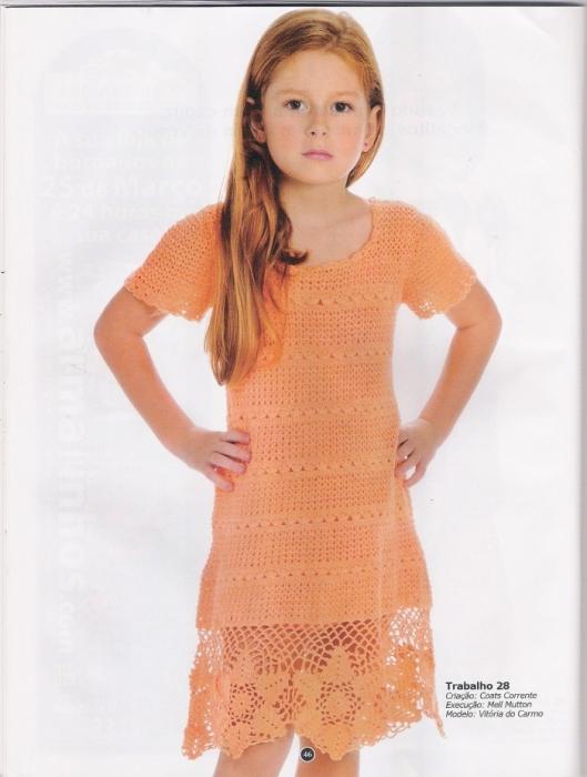 Очень Красивые Вязаные Платья Для Девочек