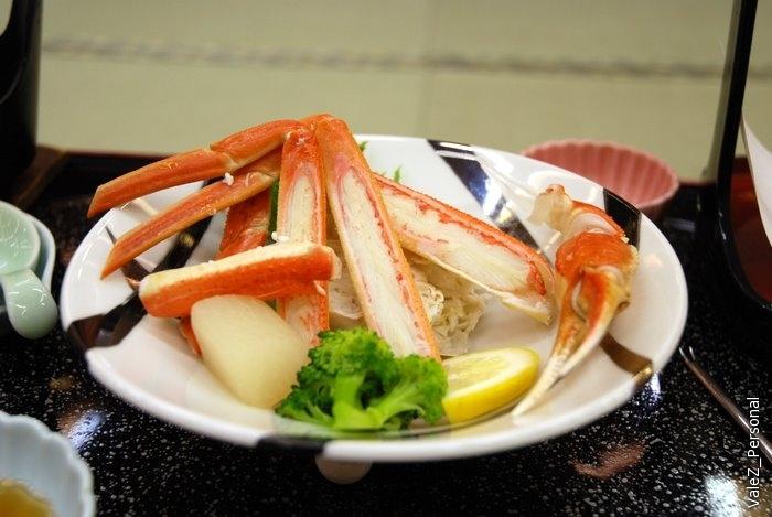 Крабы были просто невероятными, я впервые в жизни решился поесть морепродукты
