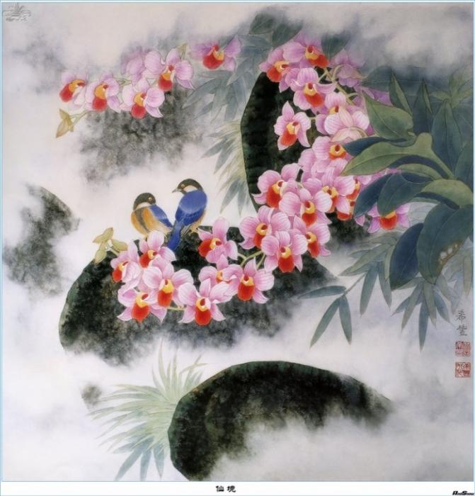 Впрочем, не только Китай, но и весь Дальний Восток, с его поэтичностью и медитативностью.  Картины могут...