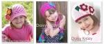 Еще одна подборка идей красивых шапочек для девочек.  Здесь, в основном, летние шапочки, вязаные крючком.