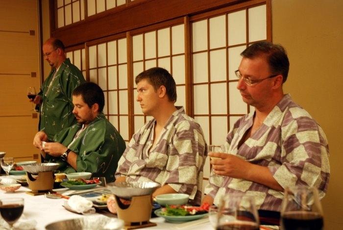 Самураи готовы к очередному вечернему подвигу