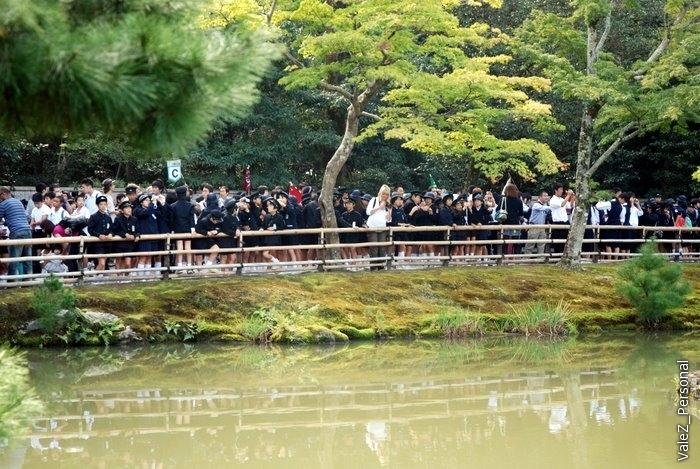 Но уже к концу этой экскурсии всех от школьников просто тошнило, как их много, какие они все одинаковые