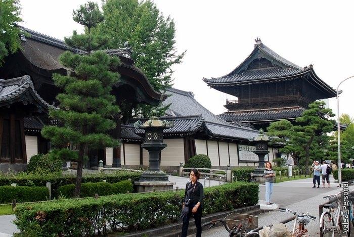 2я мировая война пощадила Киото - и сохранила все его храмы, признанные мировым культурным наследием ЮНЕСКО