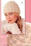Картинка из категории Схемы вязания крючком пальто , Вязаные молодежные шапки и Модели по вязанию на спицах
