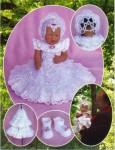 вязанные платья для девочек крючком со схемами.