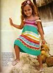 Вязаное платье спицами с описанием для девочки.