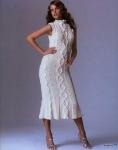 Вязаные платья трапеция спицами со схемами - Фасон.