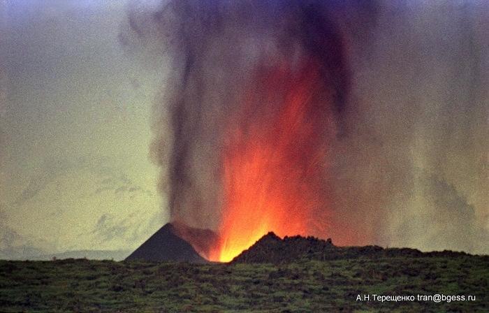 Рождение вулкана Южный прорыв