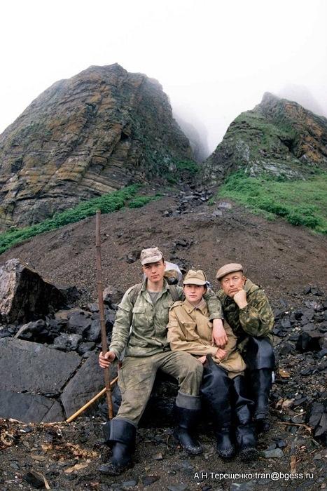 Горе-туристы на острове Беренга