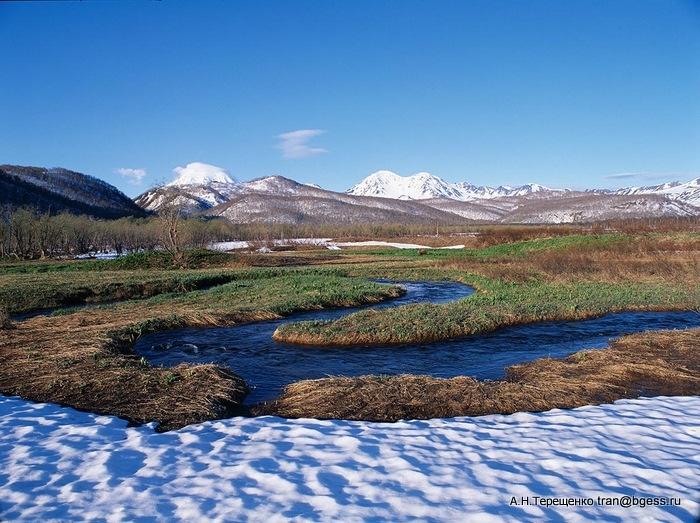 Панорама природного парка Налычево