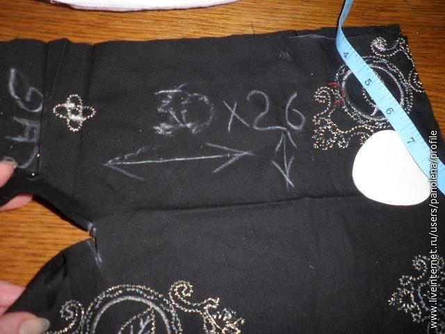 а это верхняя часть платья - рубашка. Кроить по типу кимоно, затем разрезать горловину