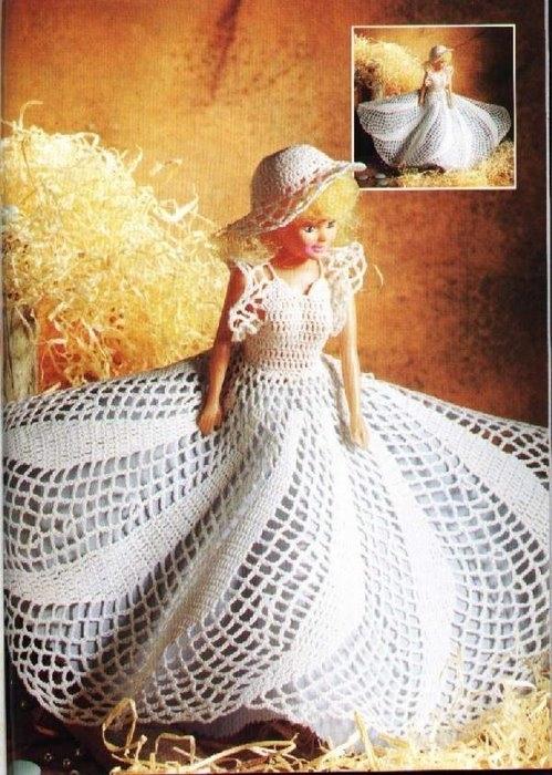 Платье Вихрь для Барби.