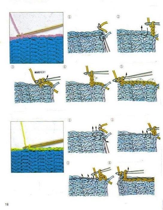 Учебник по вязанию крючком и спицами в картинках 2438900_18