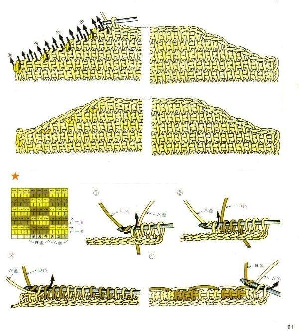 Учебник по вязанию крючком и спицами в картинках 2438940_61
