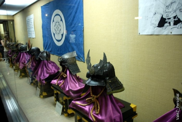 В настоящее время внутри замка расположен музей оружия и доспехов самураев.