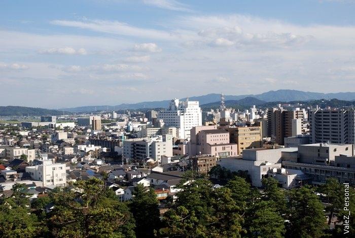 А вот современный город Мацуэ