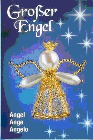Украшение, Бисероплетение, : Ангелочки из бисера (+СХЕМА) Бисер.