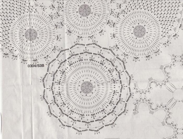 餐巾钩织图案 - maomao - 我随心动