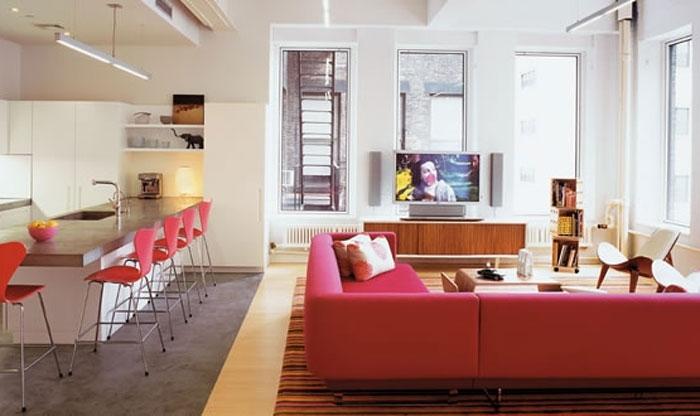 свой цитатник или сообщество!  Идеи для интерьера однокомнатной квартиры.