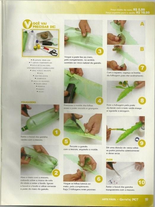 Поделки из пластиковых бутылок пошаговое описание с фото