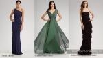 подружки невесты зеленые платья