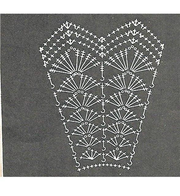 Кокетка квадратная (в пошаговых пример), дальше юбка (схема в пошаговых).  Этапы.  Потом...