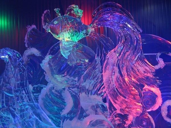 В центре Москвы на территории живописного парка «Красная Пресня» открылась Галерея русской ледовой скульптуры.     В создании необычного ледяного сооружения приняли участие двенадцать лучших скульпторов России – неоднократные победители международных и национальных конкурсов ледовых скульптур.