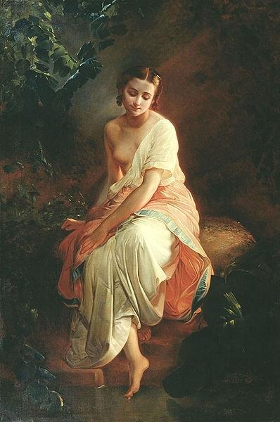 The Bather Русский: Купальщица Дата 19th century