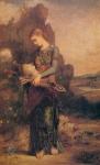 Девушка с головой Орфея