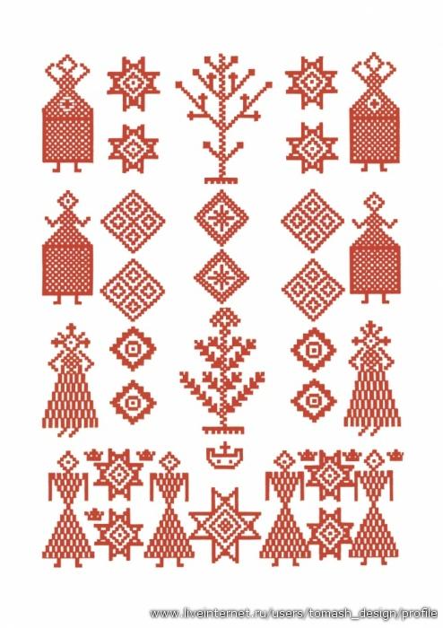 Белорусский орнамент.