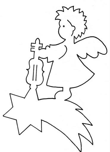 Сделать ангелочка своими руками из бумаги шаблон