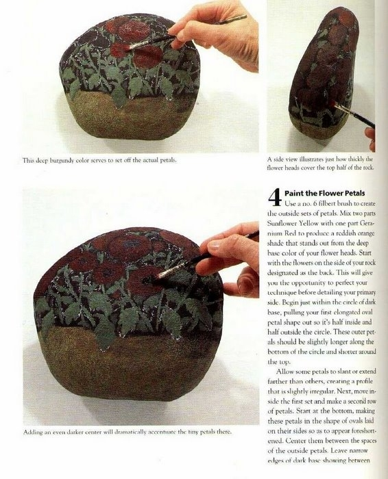 paintings artwork: painting on rocks magazine