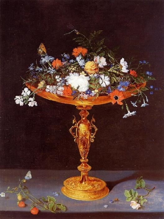 Ваза с цветами. 1612