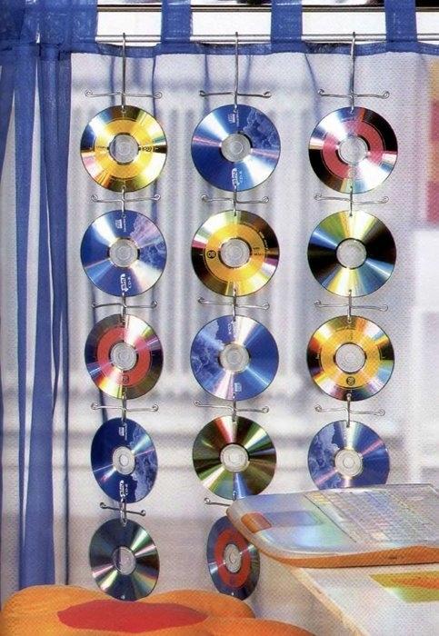 Что сделать из компьютерных дисков своими руками 159