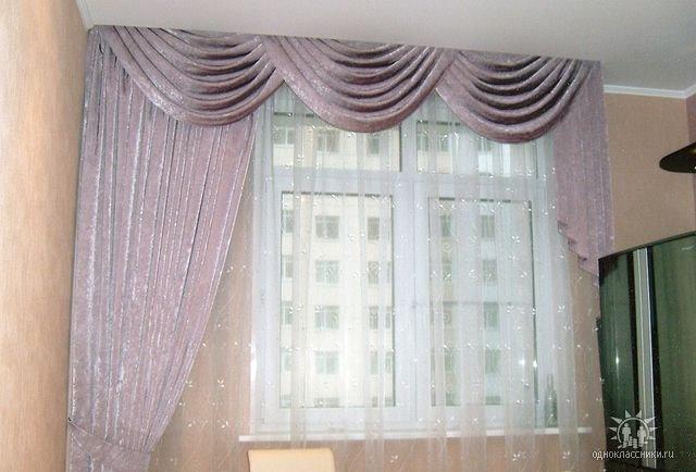 Красиво задрапировать окно шторами можно и самостоятельно, для этого необходимо сделать ламбрекен своими руками и...