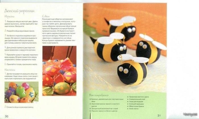 gift for easter: handmade eggs