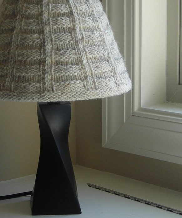 crochet and knitting lamp shade ideas and tutorial