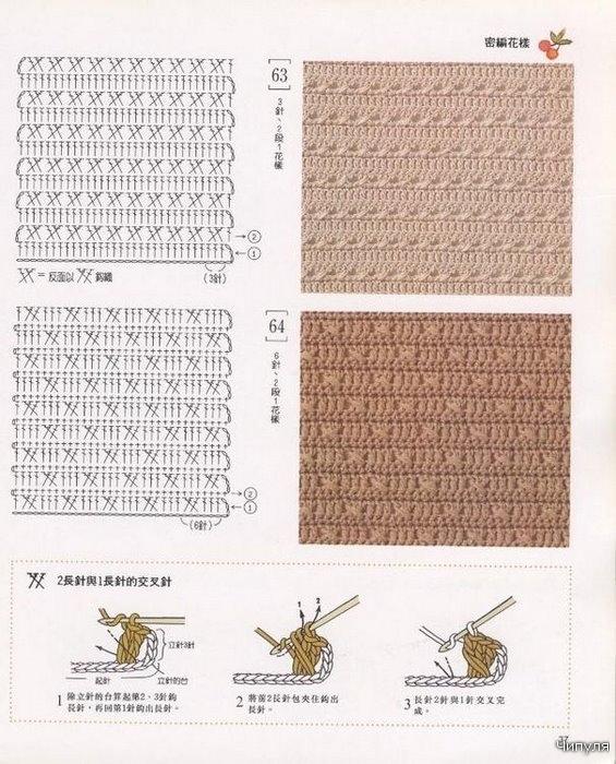 вязание крючком беретки.