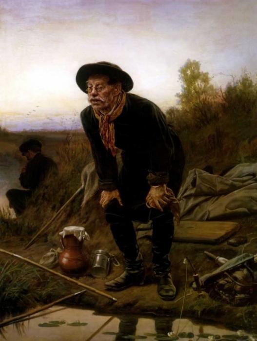 Рыболов. 1871