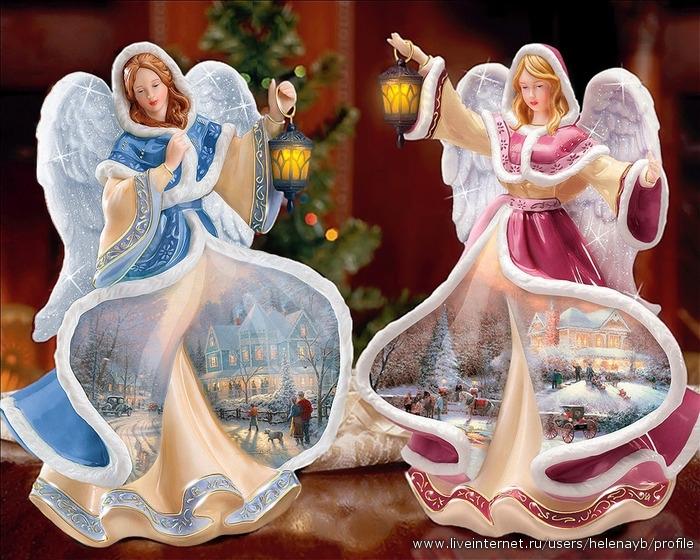 Как сделать рождественские ангелы своими руками