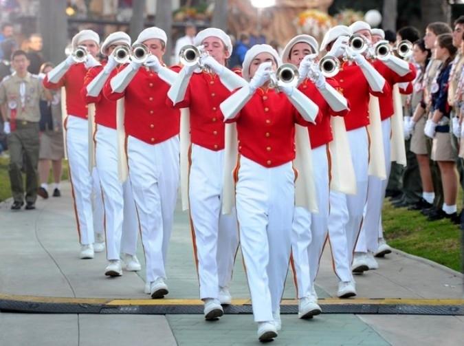 122-ой ежегодный Парад Роз в Пасадене, Калифорния, 1 января 2011 года.