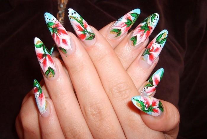 китайская роспись ногтей фотогалерея.