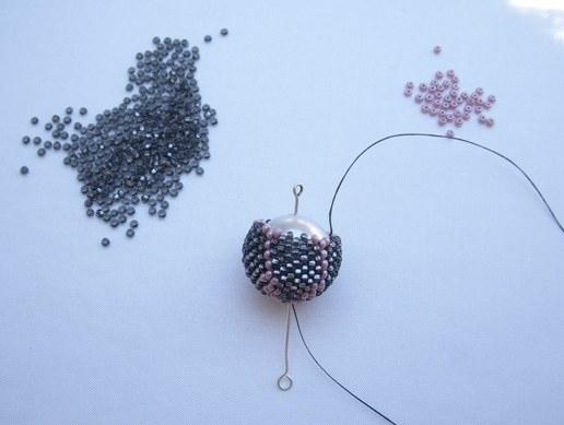 как сделать шарики из бисера - БИСЕР.
