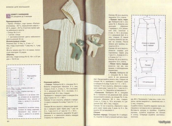 Вязание крючком конверта для новорожденных схема 27