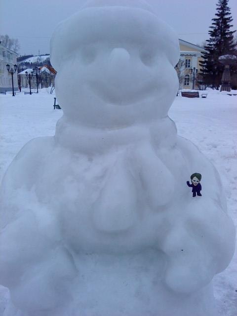 Joker-6 и снеговик